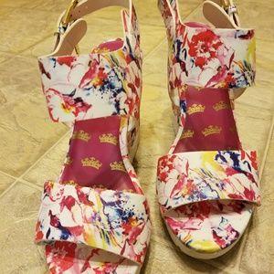Juicy Couture platform shoes
